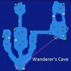 Wanderer's Cave Map Re;Birth3