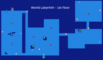 World Labyrinth-1st Floor Map Re;Birth2