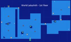 World Labyrinth-1st Floor Map Re;Birth2