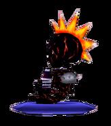 Flame SkeletonSide
