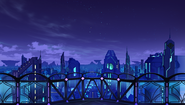 Ultra Dimension Planeptune - Small Towers Only - Night