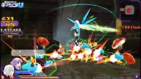 PS Vita「超次元アクション ネプテューヌU」 プレイムービー「ノワール編」