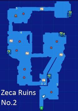 Zeca Ruins No.2 Map Re;Birth3