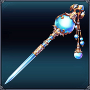 Cyberdimension Icon Moonstone Hairpin