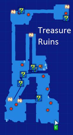 Treasure Ruins Map Re;Birth3