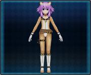 Tabby Cat Suit (Light Brown) Neptune 4GO