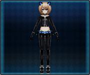 Cat Suit (Black) Blanc 4GO