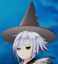Black Pointed Hat (S-Sha) VII