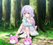 Plutia - Hyperdimension Neptunia The Animation 3