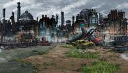 Lastation junkyard