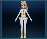 White Cat Suit (Yellow) Ram 4GO