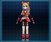 Kunoichi Ninja Attire (Crimson) 4GO