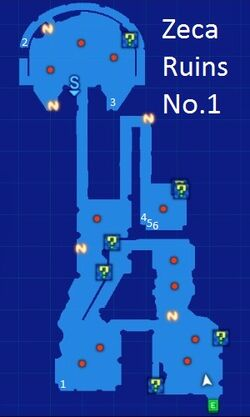 Zeca Ruins No.1 Map Re;Birth3