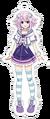Neptune Acrylic Keychain Anime.png