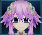 Thin Frame Glasses (Purple) 4GO