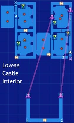 Lowee Castle Interior Map Re;Birth3