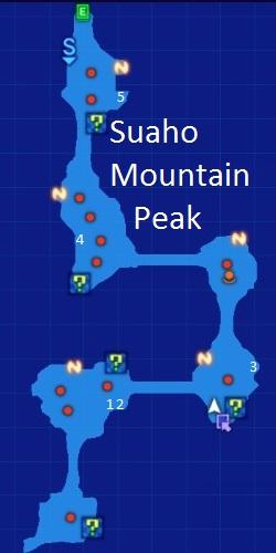 Suaho Mountain Peak Map Re;Birth3