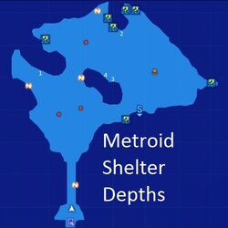 Metroid Shelter Depths Map Re;Birth3