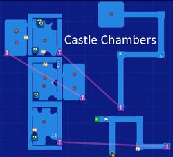 Castle Chambers Map Re;Birth3