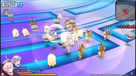 PS Vita「超次元アクション ネプテューヌU」 プレイムービー「ラム編」