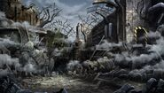 Destroyed Lastation Factory