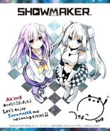 Showmaker Promo with Nepgear