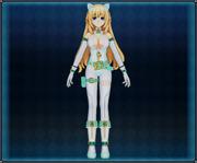White Cat Suit (Green) Vert 4GO