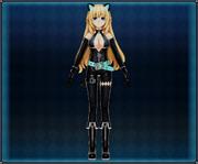 Cat Suit (Black) Vert 4GO