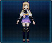 Samurai Flower Armor (Light Purple) 4GO