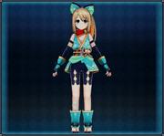 Kunoichi Ninja Attire (Jade) 4GO