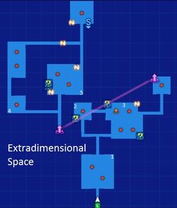 Extradimensional Space Map Re;Birth3