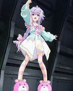 HDNA-Plutia arm up