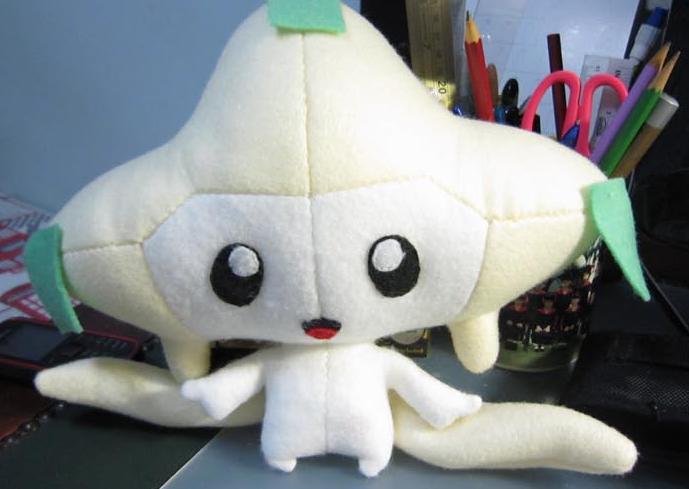 Jirachi Plushie Sewing Pattern (Tanzying)   Nerdy Rabbit Wiki ...
