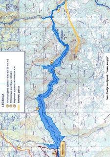 HE Bjelimici - Topo Mapa brane i jezera iz Nas pogled od Zeleni-Neretva