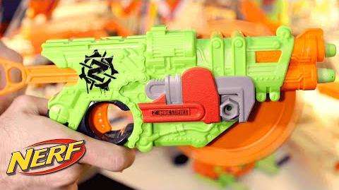 NERF - 'Zombie Strike Crosscut Blaster Saw Blade' Blaster Files