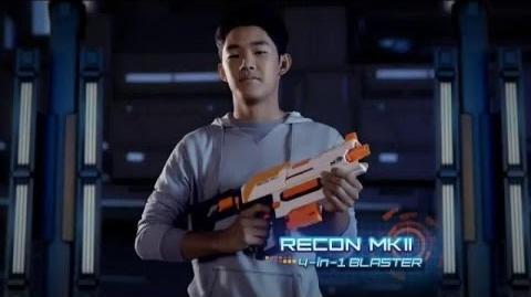 Nerf Modulus Recon MK2 4-in-1 Blaster Commercial 2016