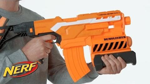 Nerf South Africa - 'N-Strike Elite Demolisher 2-in-1 Blaster' Official Product Demo