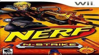 Nerf N-Strike-Wii Playthrough
