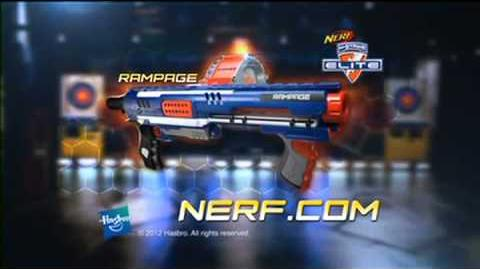NERF N-Strike Elite RAMPAGE - commercial short