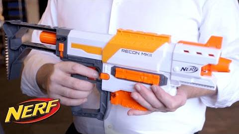 NERF - 'Modulus Recon MKII' Blaster Files Inspiration