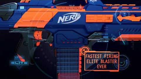 "Nerf UK TV Advert 2013 ""Nerf N-Strike Elite Rapidstrike CS-18 Blaster"""