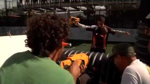 Nerf Dart Tag 2011 Commercial Behind the Scenes
