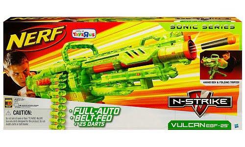 Nerf N-Strike Vulcan EBF-25 Ultimate Value Pack : BananaToys.com