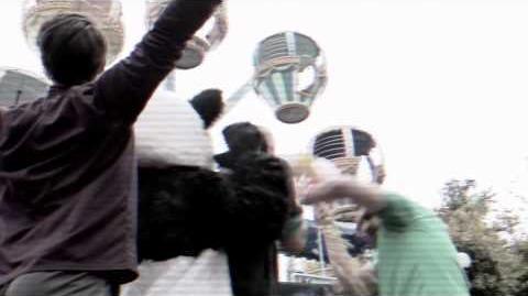 NERF Stunts Ferris Wheel Sneak Attack with the MEGA Magnus