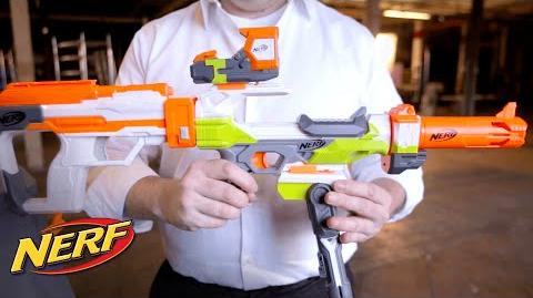 NERF - 'Modulus Ion-Fire' Blaster Files How it Works