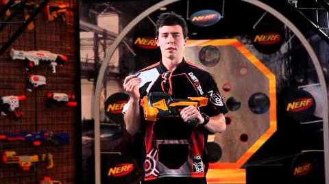 NERF Product Tips Dart Tag Speed Load 6 Blaster Toy