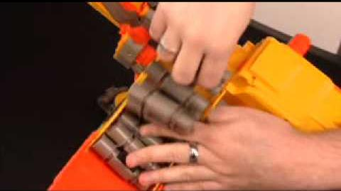 NERF Instructional Video - N-Strike Vulcan EBF-25 Blaster Toy