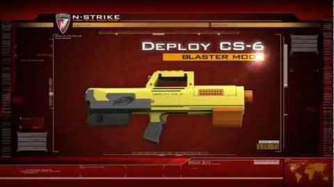 NERF N-Strike Deploy CS-6 Blaster (2010 commercial)