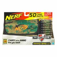 Ammo bag camo suction darts