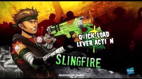 Nerf Australia Zombie Strike Slingfire 15 Second Commercial